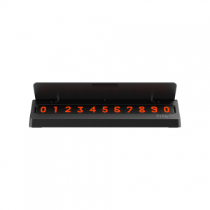 Автовизитка Xiaomi Bcase Tita Mini Phone Car Parking Number Holder