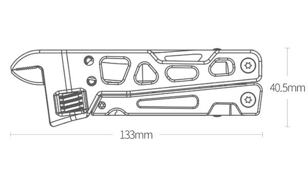 Мультитул Xiaomi NexTool Multi-function Wrench Knife