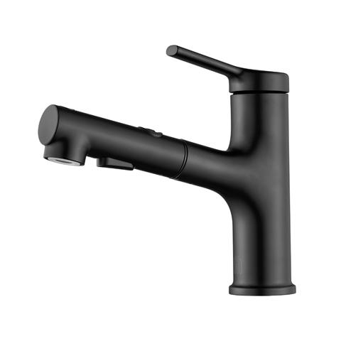 Смеситель для раковины Xiaomi Dabai Diiib Extracting Faucet Black