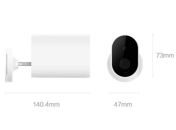 Беспроводная IP-камера Xiaomi Xiaobai Smart Camera Battery Edition
