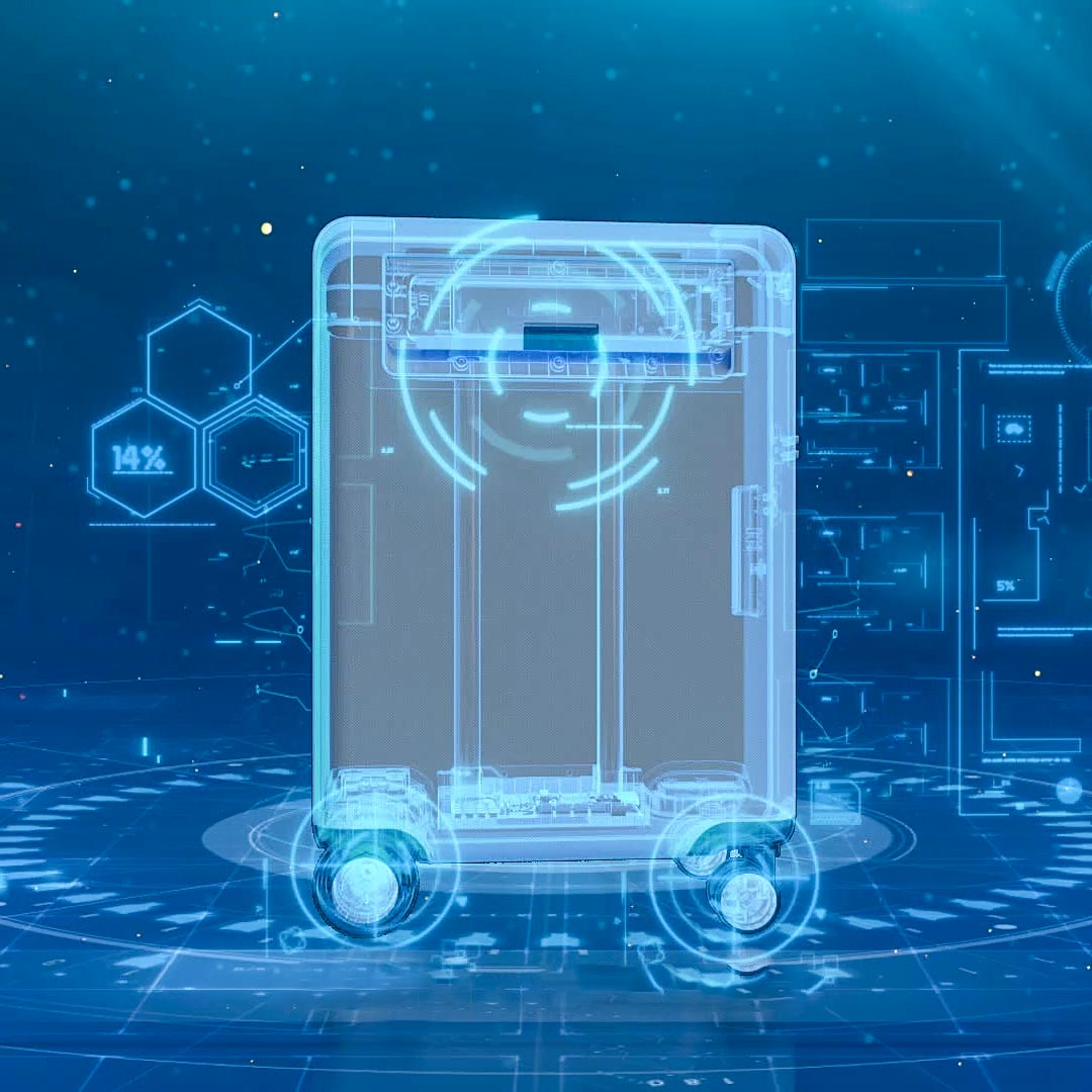 Робот-чемодан Xiaomi и Cowarobot