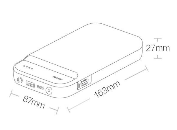 Пусковое устройство для автомобиля Xiaomi 70mai Jump Starter
