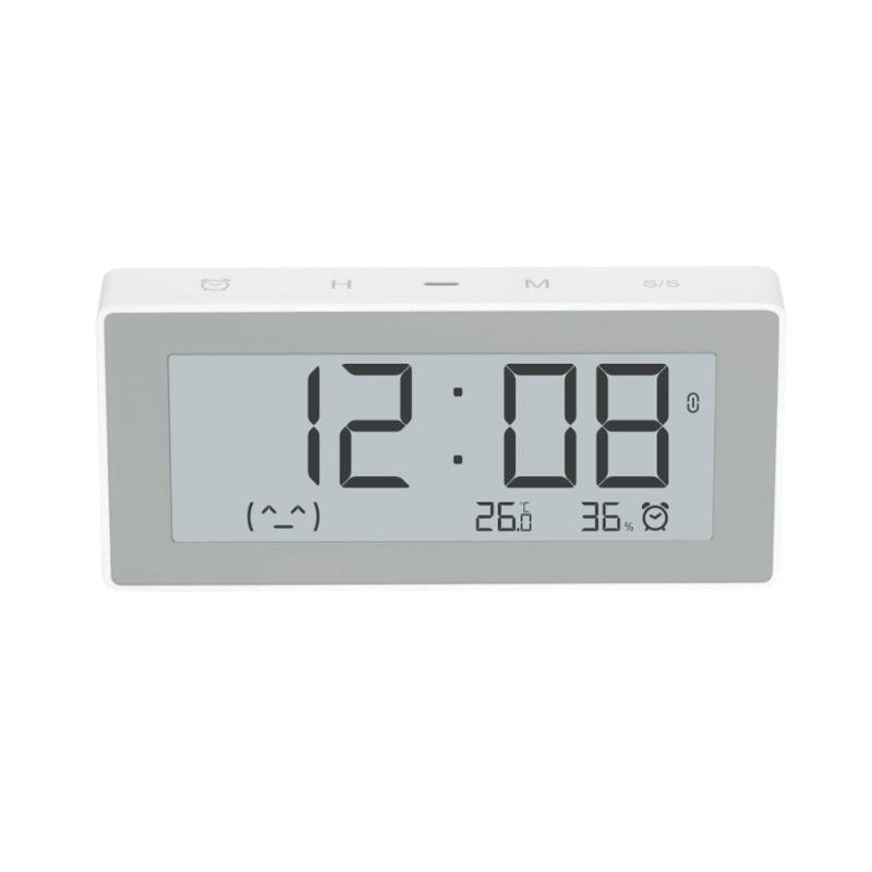 Часы с датчиком температуры и влажности Xiaomi Miaomiaoce Smart Clock Temperature Fnd Humidity Meter E-Inc