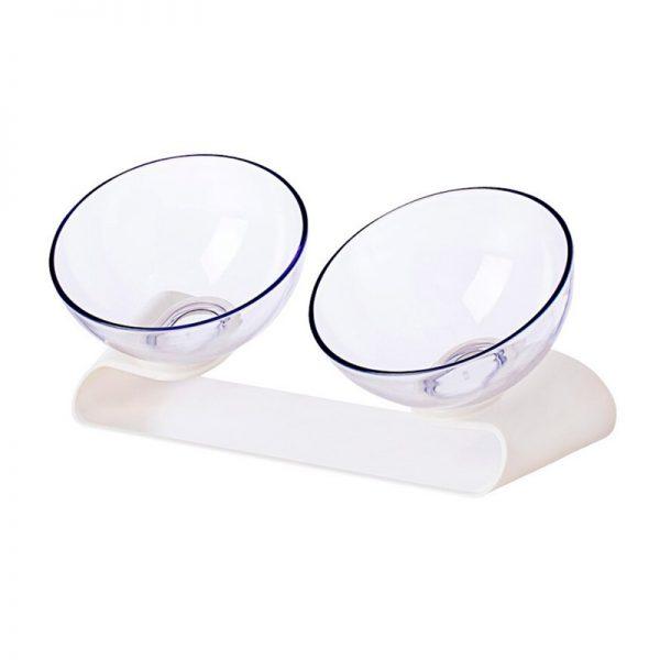 Двойная миска для домашних животных Xiaomi Jordan Judy Plastic Pet Double Food Bowl