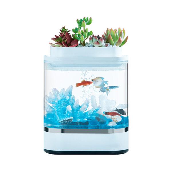 Аквариум Xiaomi Geometry Mini Lazy Fish Tank