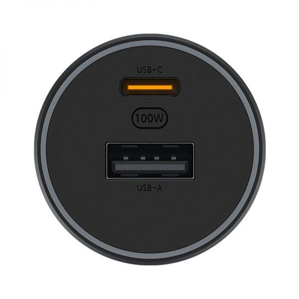 Автомобильное зарядное устройство Xiaomi Car Charger Fast Charging Version 1A1C (100W)