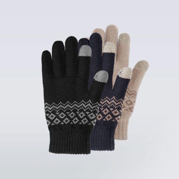 Перчатки для сенсорных экранов Xiaomi FO Touch Wool Gloves