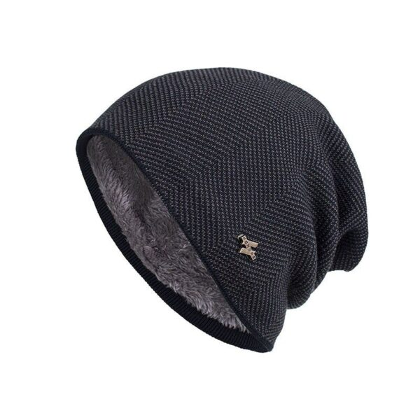 Шапка Xiaomi Knitted Warm Double Hat